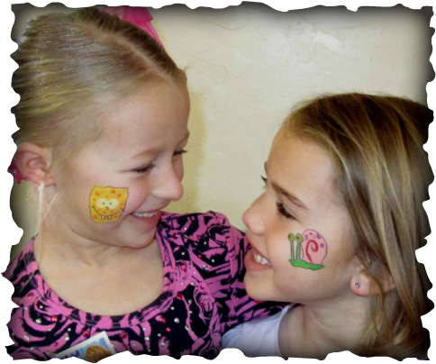 Girl Face Painting Ideas